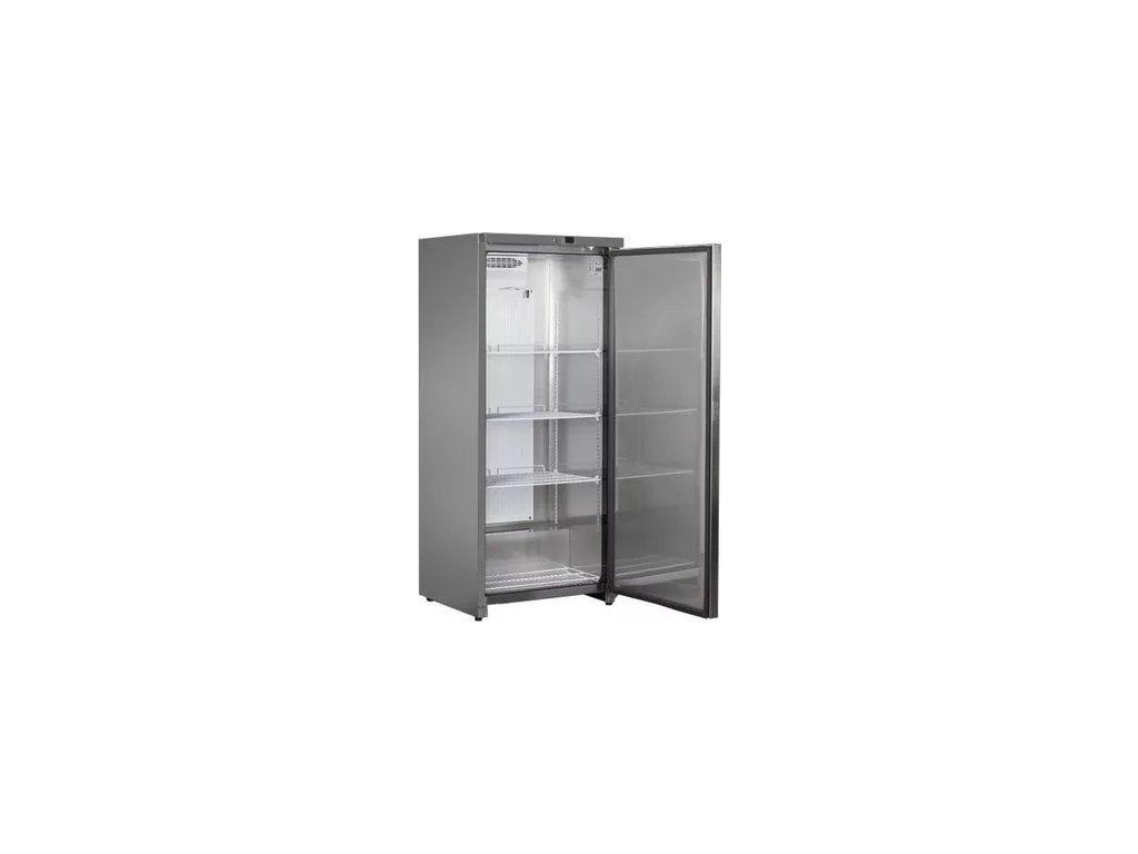 NORDline UR 600 FS 570lt. chladicí skříň nerezová