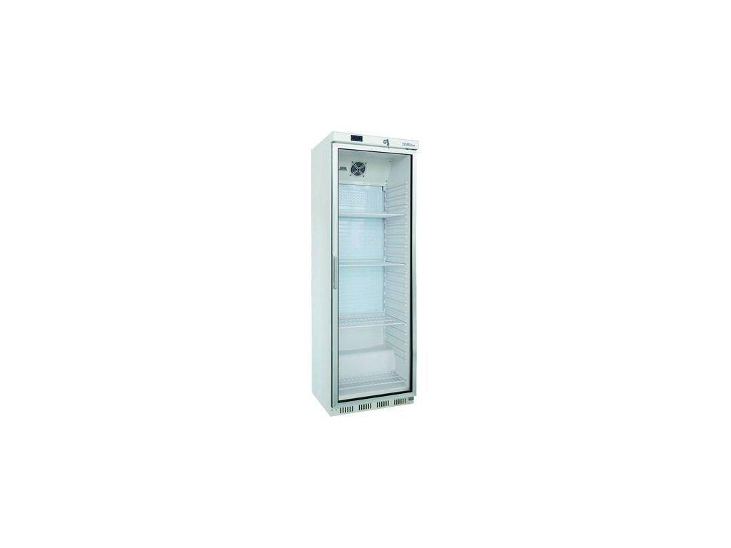 NORDline UR 400 G 570lt. chladicí skříň prosklená bílá 400lt.