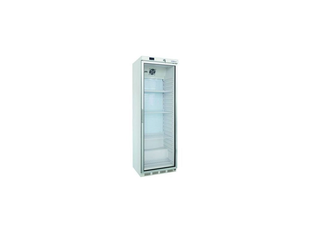 NORDline UR 400 G chladicí skříň prosklená bílá 400lt.