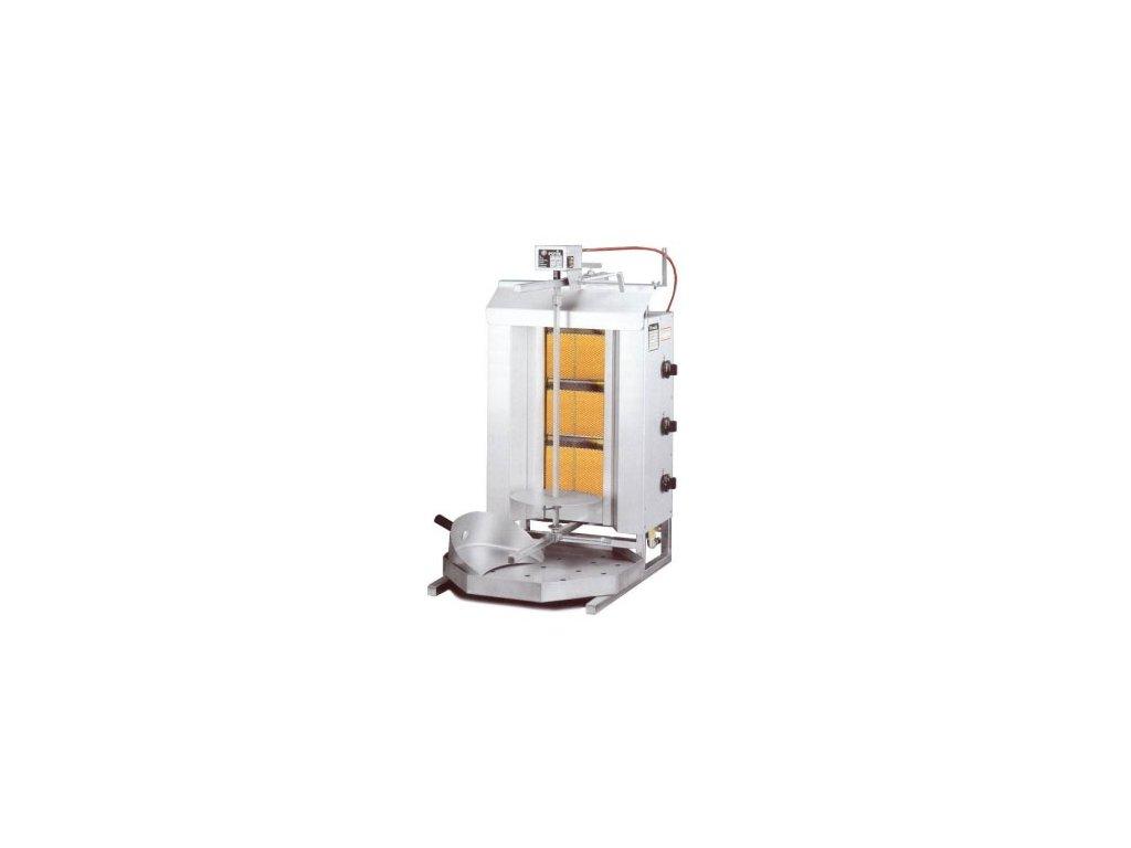 Plynový gyros gril GD3 Potis