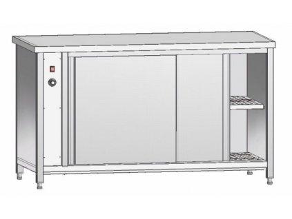 Režon - vyhřívaný stůl 600mm