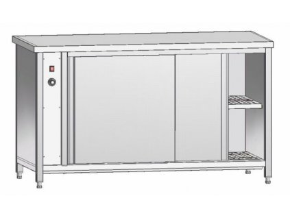 Režon - vyhřívaný stůl 700mm