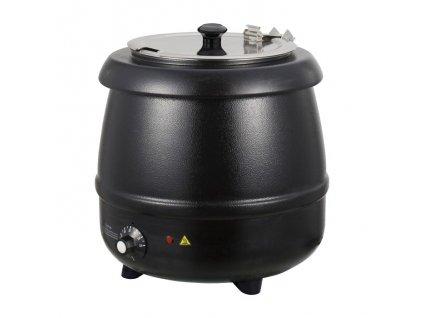 Kotlík na polévku 10lt. černý SB-10