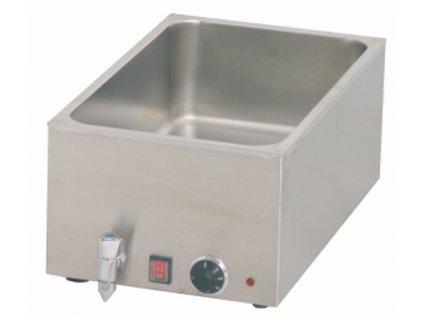 Vodní lázeň BM 1/1 165BT s výpustí pro GN 1/1-150mm