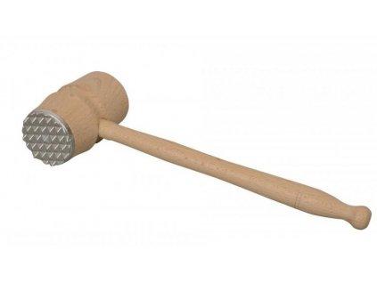 Palička na maso dřevo-kov AD-72000