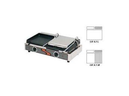 Elektrický kontaktní gril 1/1 - GR 8.1 Fiamma