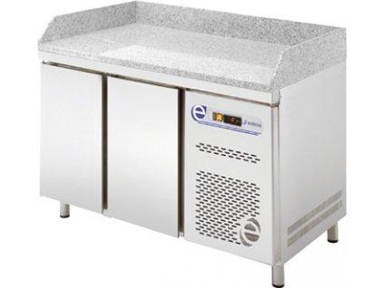 Pizza chladící stůl GN 1/1 700mm dvě sekce TP7-135-20GD Edesa