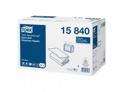 Tork Premium ubrousky do zásobníku Interfold (bílá) N4 15840