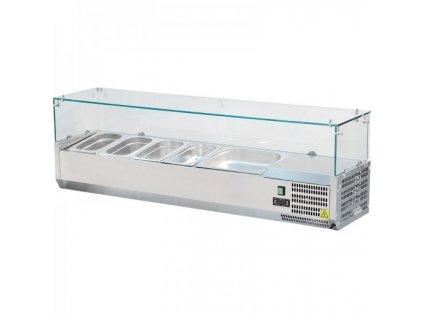 Vitrínka chladící 120cm VCH 3120 Red Fox pro GN 1/3