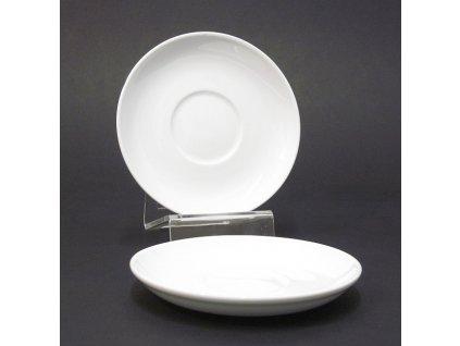 Talíř dezertní Tonda podšálek 14,5cm porcelán