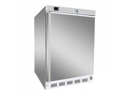 Chladící skříň 130lt. Red Fox DR-200/S lednice nerezová