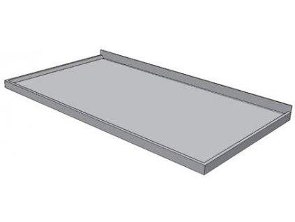Pracovní deska nerezová s prolamem KPDP - šíře 700mm