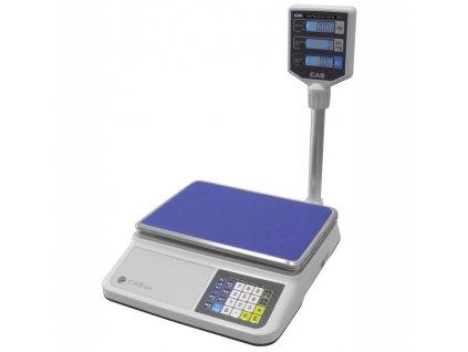 Obchodní váha CAS PR2 do 15kg s nožkou