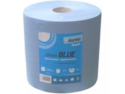 mmilenium.cz velkoobchodgastro.cz Papírové ručníky role 2vr Blue 26cm