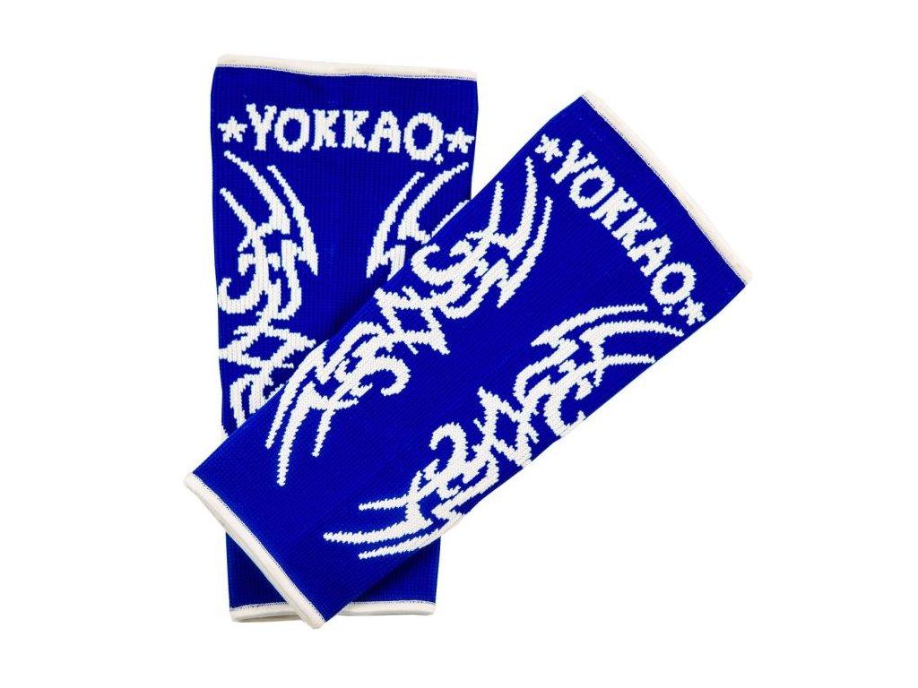 Chrániče kotníků YOKKAO Tribal Muay Thai - modrá