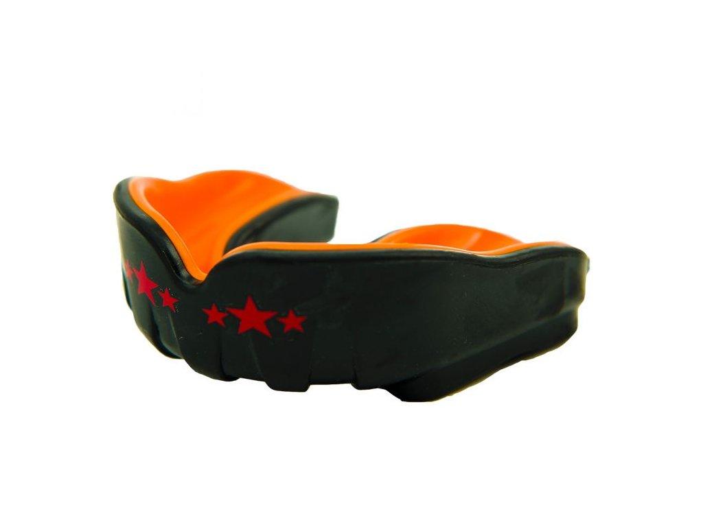 Chránič zubů YOKKAO - černá/oranžová