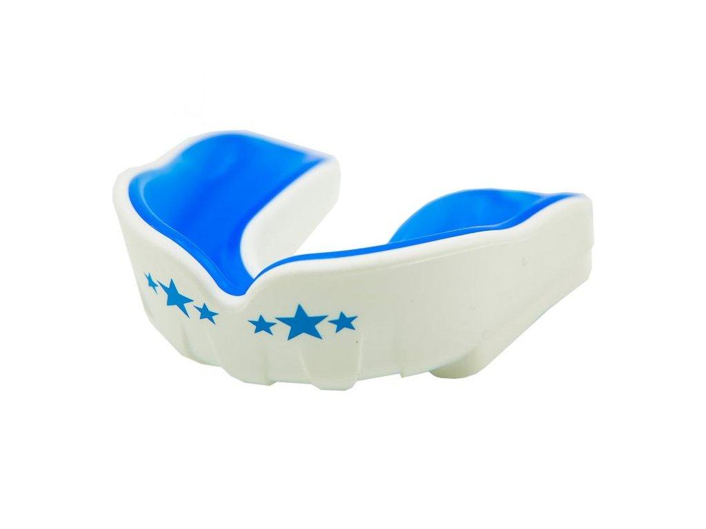 Chránič zubů YOKKAO - bílá/modrá