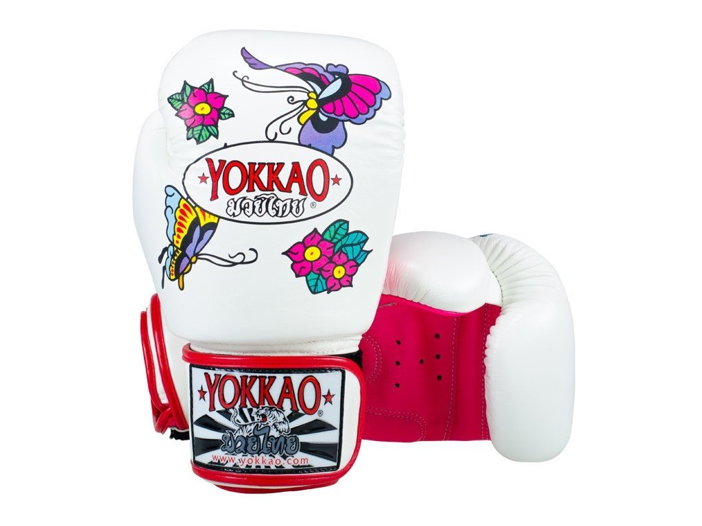 Muay Thai rukavice YOKKAO Butter Fly