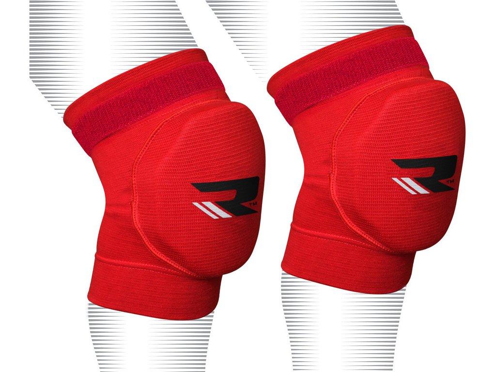 Chrániče kolen – velikost L, červené