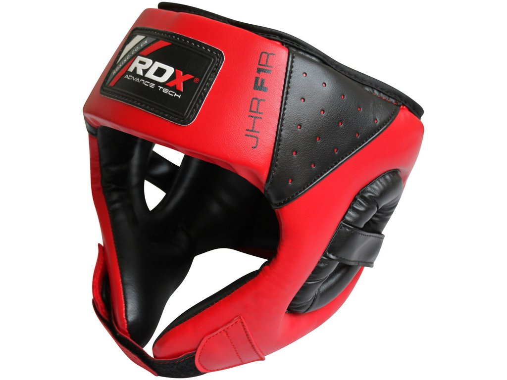 Dětská ochranná helma RDX F1 – červená
