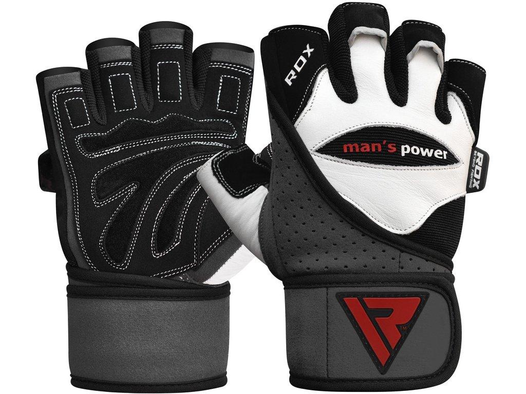 Tréninkové fitness rukavice RDX L1W