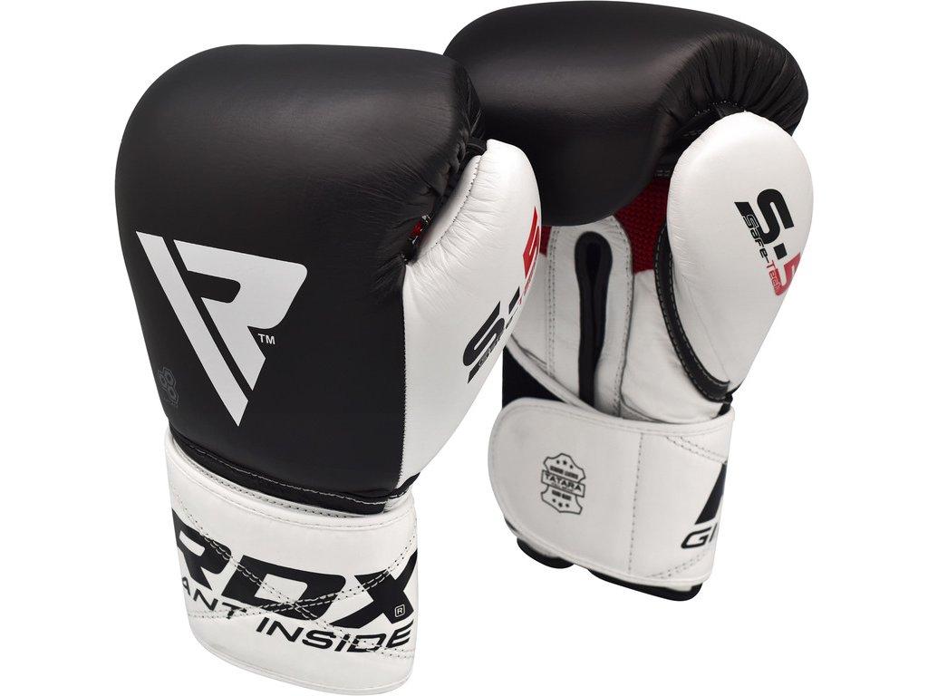 Boxerské rukavice RDX S5 - černá