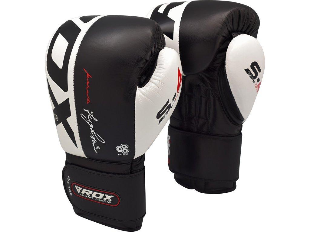 Boxerské rukavice RDX S4- černá