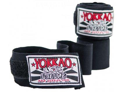 Prémiové bandáže rukou YOKKAO - černá