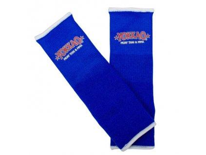 Chrániče kotníků YOKKAO Muay Thai - modrá