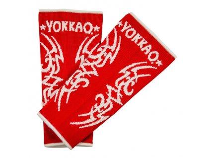 Chrániče kotníků YOKKAO Tribal Muay Thai - červená