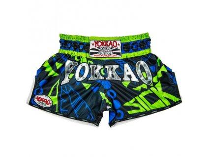 Dětské trenky YOKKAO CarbonFit Sick - modrá/zelená