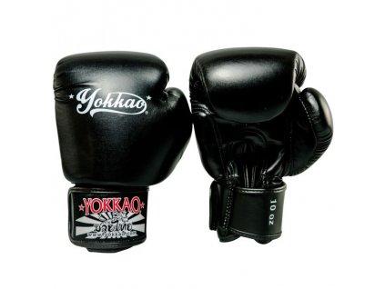 Muay Thai rukavice YOKKAO Vertigo - černá