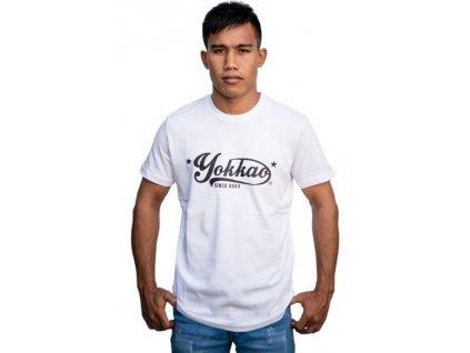 Sportovní triko YOKKAO Vertigo - bílá
