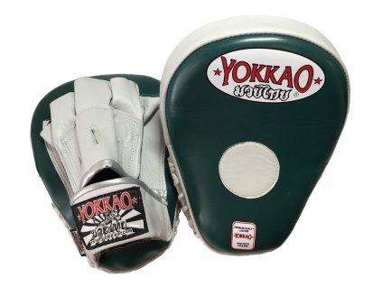 Tréninkové lapy YOKKAO - šedá / zelená