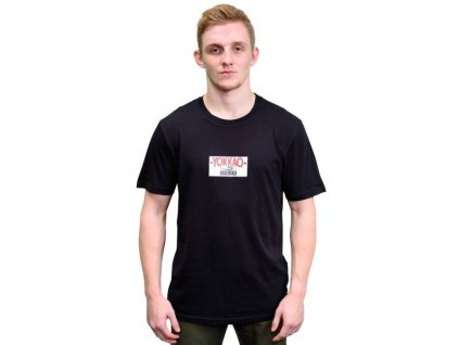 Sportovní triko YOKKAO Refresh Print Logo-černé