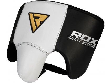 Kožený suspenzor RDX L1 – velikost L, bílý