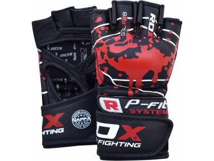 Kožené rukavice MMA RDX F2B