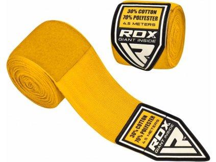 Bandáže rukou RDX HW Žlutá