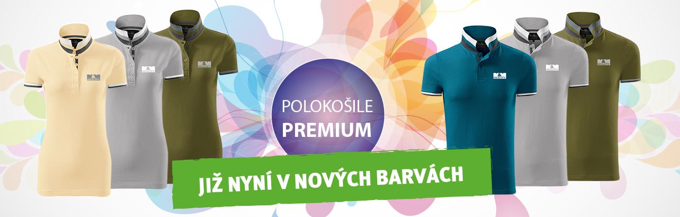 Polokošile Premium v nových barvách!