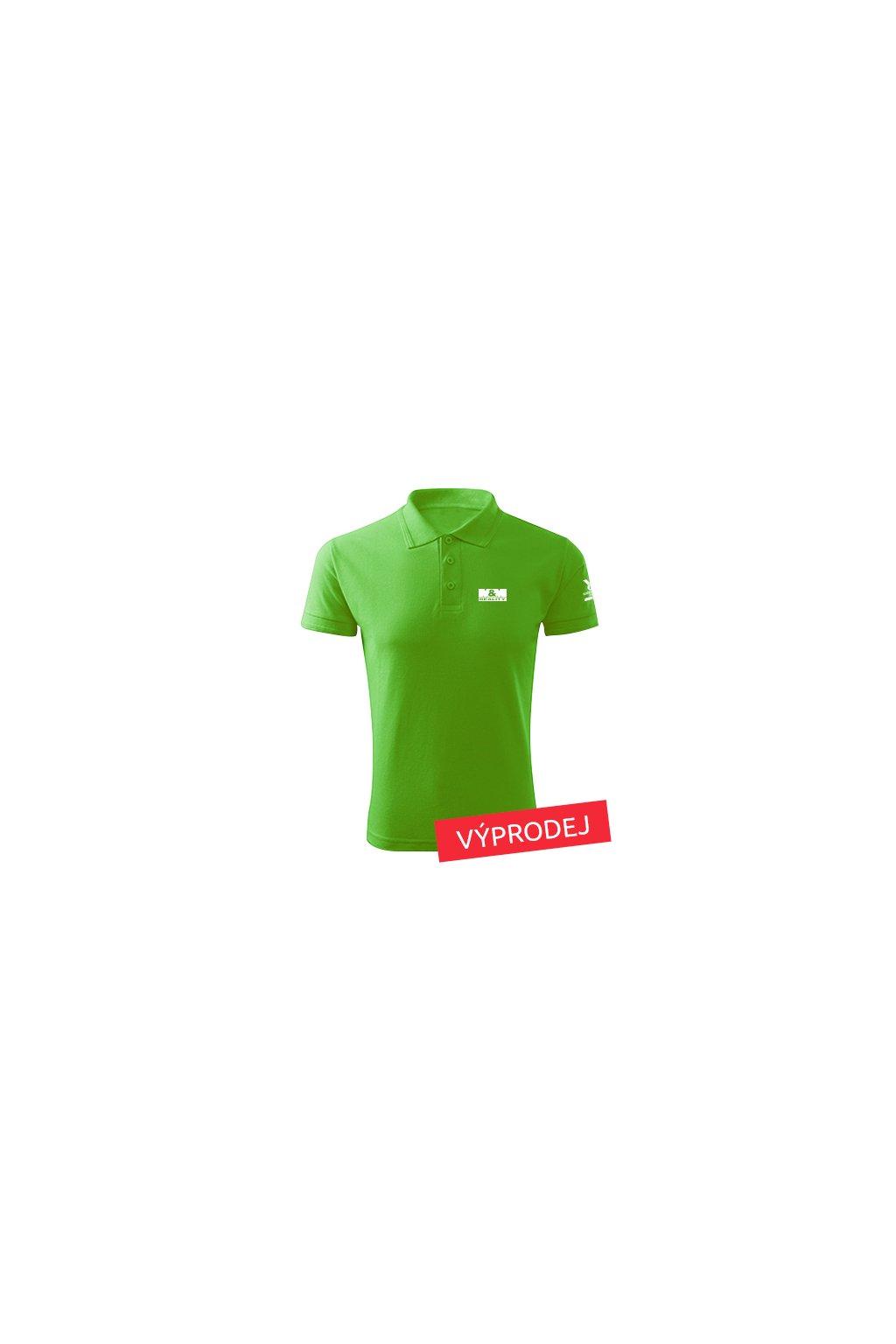 Pánská polokošile zelená nejdůvěryhodnější značka 203 - VÝPRODEJ