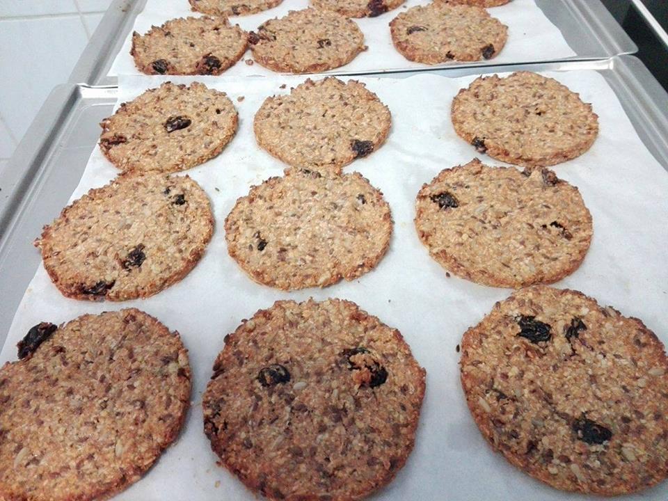 Pečení zdravých sušenek