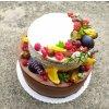 Dvoupatrový dort - extra čoko + mrkvový