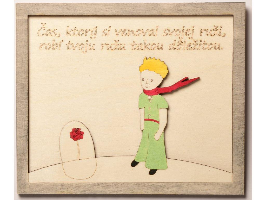 Citát malý princ ruža