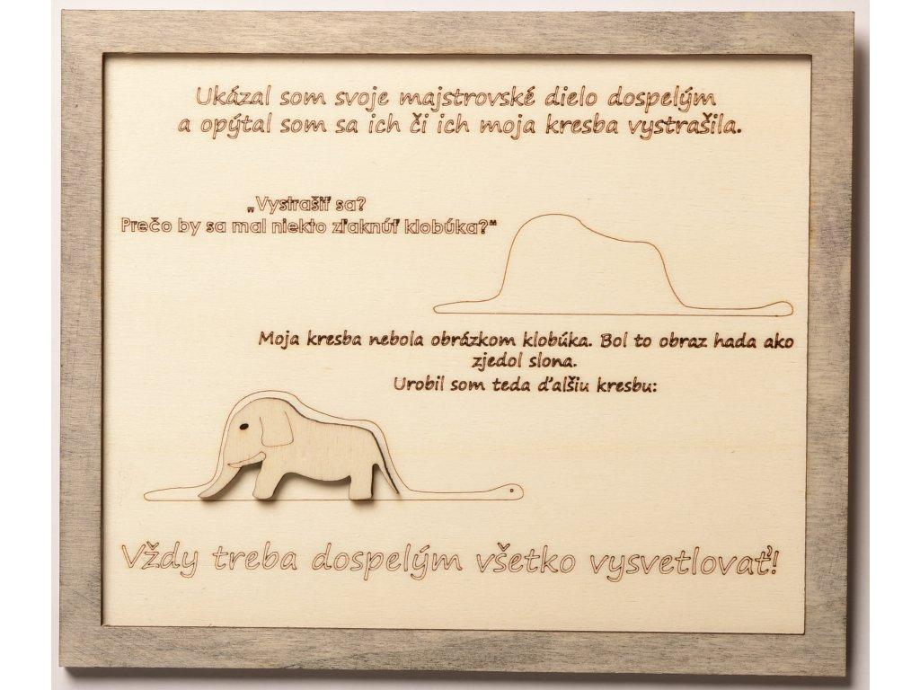 citáty malý princ slon