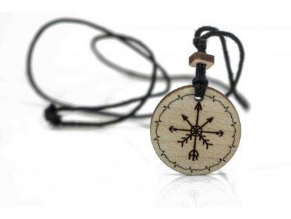 Pansky nahrdelnik kompas