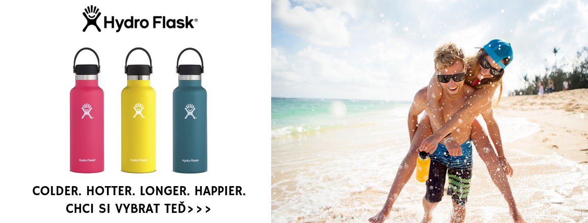 Chci si vybrat svoji lahev Hydro Flask