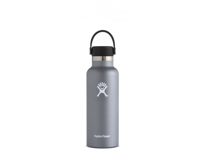 Hydro Flask 18oz Standard Mouth Graphite termolahev 532 ml