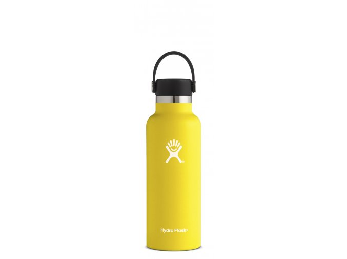 Hydro Flask 18oz Standard Mouth Lemon termoláhev 532 ml
