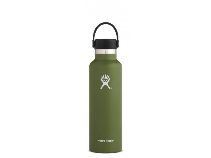 Hydro Flask 21oz Standard Mouth Olive termolahev 621 ml