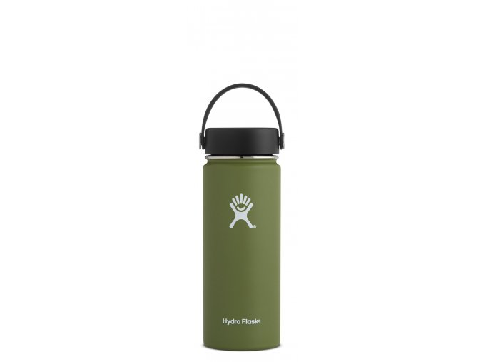 Hydro Flask 18oz Wide Mouth Olive Láhev 532 ml